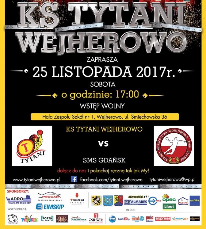 Czas na lidera!!! Tytani vs SMS Gdańsk
